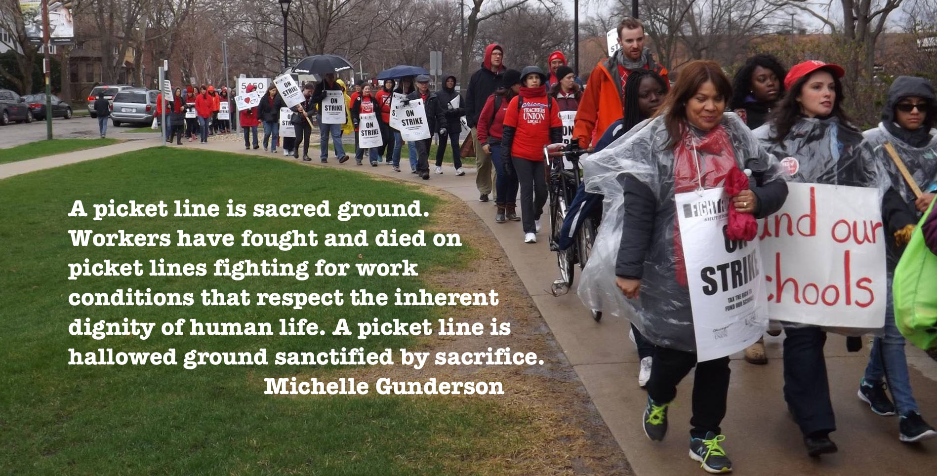 A Strike is Not a Walk in the Park: Michelle Gunderson ...