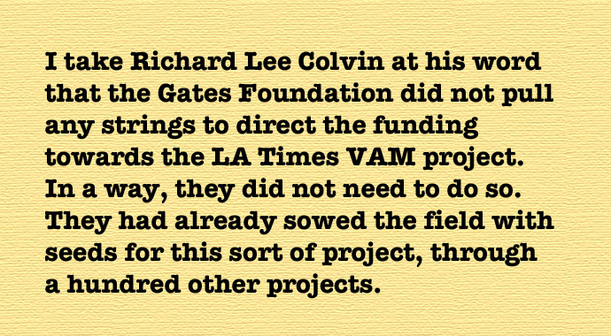 Gates Foundation Directs Funding Toward >> 15 000 La Times Vam Mystery Solved Living In Dialogue